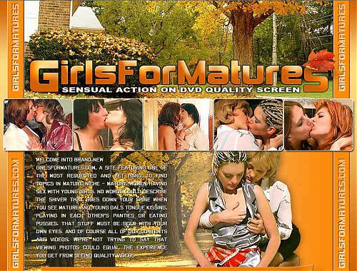 Girls For Matures  DVDRip