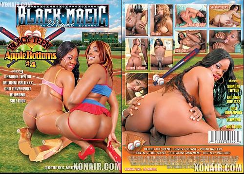 Black Teen Apple Bottoms 4  DVDRip