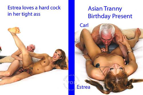 Asian Tranny Birthday